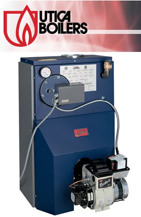 Utica Boilers - The complete line of gas and oil-fired products has earned a reputation for exceptional quality, performance and dependability.